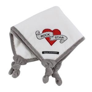Rock Star Baby-Πανάκι παρηγοριάς-Heart & Wings RSB90503