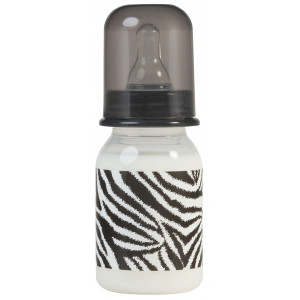 Rock Star Baby Μπιμπερό 125ml Zebra RSB96072