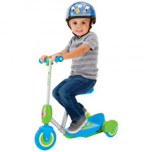 Razor Ηλεκτρικό Πατίνι Scooter με κάθισμα Lil' ES Blue RZR20173640