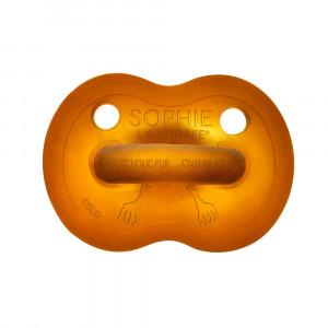 Πιπίλα Σόφι καμηλοπάρδαλη από 100% φυσικό καουτσούκ 6-18 μηνών S220128