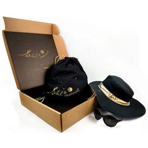 "KiETLA Σετ Καπέλo+Γυαλιά ""Soleil de Minuit"" 4-6 ετών Limited edition Kit με δώρο μια τσάντα SEL17"