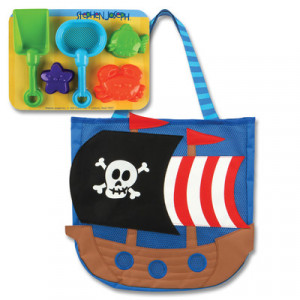 Stephen Joseph-Παιδική Τσάντα για την Θάλασσα-Πειρατής SJ.10.080