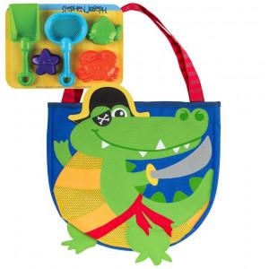 Stephen Joseph-Παιδική Τσάντα για την Θάλασσα-Κροκόδειλος Πειρατής SJ.10.207