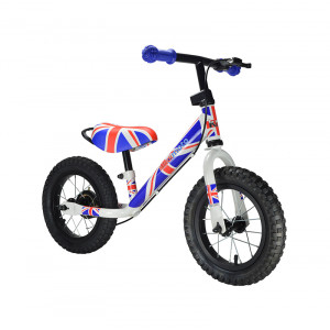 Kiddimoto: Ποδήλατο ισορροπίας SUPER JUNIOR MAX Union Jack SJM5