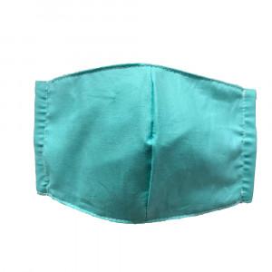 Χειροποίητη υφασμάτινη μάσκα Παιδική έως 8 ετών Σιελ SL-MINT