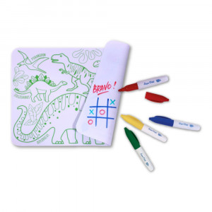 "Super Petit Mini Σουπλά ζωγραφικής από σιλικόνη ""Dinosaur"" SMATMINIDINO1"
