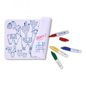 """Super Petit Mini Σουπλά ζωγραφικής από σιλικόνη """"Lama"""" SMATMINILAMA1"""
