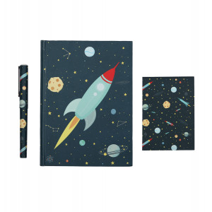 "A little lovely company: Σετ γραφικής ύλης ""Space"" STSESP13"