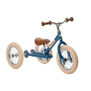 Trybike Τρίκυκλο που μετατρέπεται σε ποδήλατο ισορροπίας Vintage Μπλε TBS-2-BLU-VIN+TBS-KIT-V