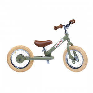 Trybike Ποδήλατο Ισορροπίας Πράσινο Vintage TBS-2-GRN-VIN