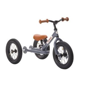Trybike Τρίκυκλο που μετατρέπεται σε ποδήλατο ισορροπίας Γκρι TBS-2-GRY+TBS-99-TK