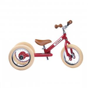 Trybike Τρίκυκλο που μετατρέπεται σε ποδήλατο ισορροπίας Κόκκινο TBS-2-RED-VIN+TBS-KIT-V