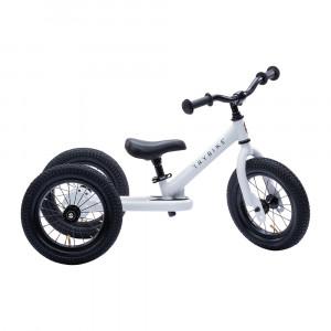 Trybike Τρίκυκλο που μετατρέπεται σε ποδήλατο ισορροπίας Άσπρο TBS-2-WHT+TBS-99-TK