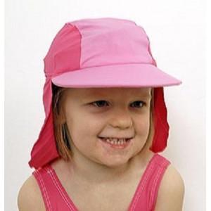 Jakabel Καπέλο με UVP50+ με κάλυψη στο σβέρκο και τα αυτιά Ροζ 2-6 ετών UVHP