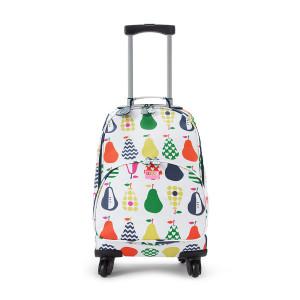"Penny Scallan: Βαλίτσα με 4 ρόδες 31.50 cm x 50cm ""Pear Salad"" WH4PES"