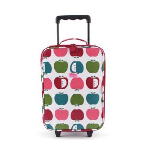 "Penny Scallan: Βαλίτσα με 2 ρόδες 30 cm x 46cm ""Juicy Apple"" WHBJUA"