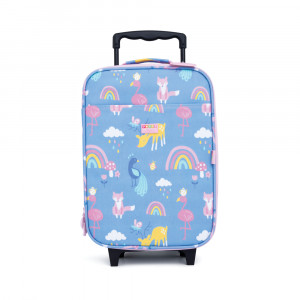 "Penny Scallan: Βαλίτσα με 2 ρόδες 30 cm x 46cm ""Rainbow"" WHBRAB"