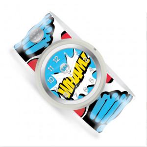 Watchitude: Ρολόϊ χειρός τύπου σλαπ Super Punch WTD-264