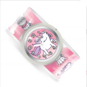 Watchitude: Ρολόϊ χειρός τύπου σλαπ Unicorn Dreams WTD-356