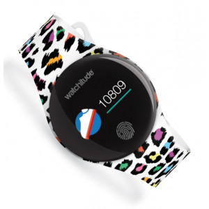 Watchitude: Ψηφιακό αδιάβροχο ρολόϊ Move 2 με Leopard Print WTD-828