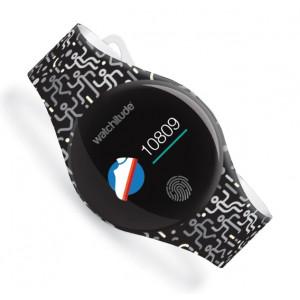 Watchitude: Ψηφιακό αδιάβροχο ρολόϊ Move 2 με Bluetooth Matrix WTD-835