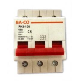 ΡΑΓΟΔΙΑΚΟΠΤΗΣ 3X40A BS PH2-100 BS-3-40