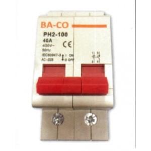 ΡΑΓΟΔΙΑΚΟΠΤΗΣ ΔΙΠΟΛΙΚΟΣ 2X40A BS PH2-100 BS-2-40