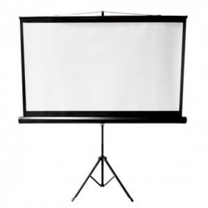 Brateck PSDB135 Οθόνη προβολής με τρίποδο 135'' 1:1 (2.40x2.40m)