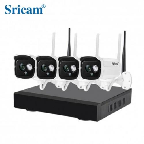 Sricam NVR NVS001 4-Channel 1MP HD IP - 720P