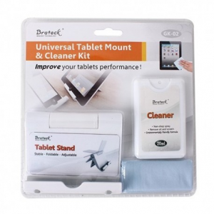 Brateck Stand για Tablet και Cleaner - Kit (Καθαριστικό και stand για Tablet)