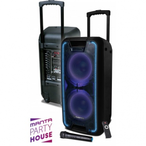 Manta SPK5027 NERIO Karaoke Party Speaker 80W με Μικρόφωνο
