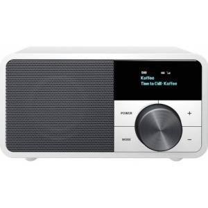 SANGEAN DDR-7 Glacier White - Φορητό Ραδιόφωνο DAB+/FM με ξύλινη καμπίνα