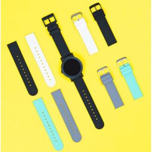 Ticwatch E silicone strap black