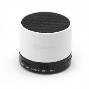 SBOX BT-160 White Ηχείο Bluetooth speaker & FM RADIO