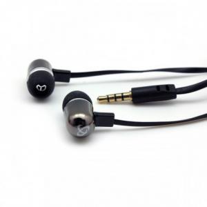 SBOX EP-044B BLACK Ακουστικά ψείρες με μικρόφωνο για MP3/MP4, κινητό τηλέφωνο, Τάμπλετ, Λάπτοπ