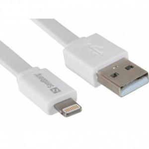 Sandberg USB Lightning Cable Flat 0.15m (440-86)