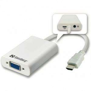 Sandberg HDMI to VGAAudio Converter (508-77)
