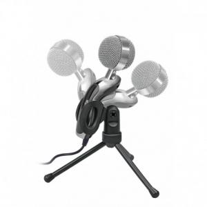 Promate Tweeter-6  Ψηφιακό Πυκνωτικό Επιτραπέζιο Μικρόφωνο HD με Περιστρεφόμενη Βάση (3.5mm)