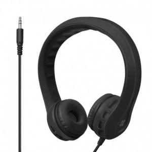 Promate Flexure Υπερευλύγιστα Ακουστικά Κεφαλής Ανοικτού Τύπου για Παιδιά (4+ ετών) - Μαύρα