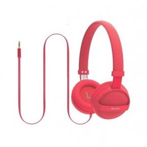 Promate Sonic Στερεοφωνικά Ακουστικά Κεφαλής Ανοικτού Τύπου για Παιδιά (4+ ετών) - Κόκκινα