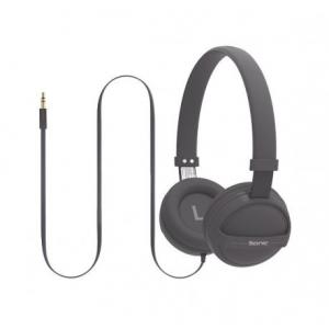 Promate Sonic Στερεοφωνικά Ακουστικά Κεφαλής Ανοικτού Τύπου για Παιδιά (4+ ετών) – Γκρι