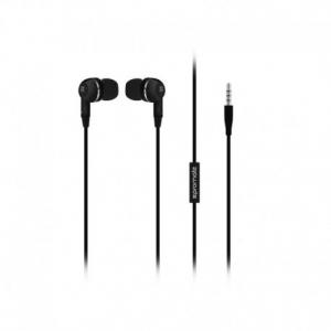 Promate earMate-IS Πολυλειτουργικά Στερεοφωνικά Ακουστικά Handsfree με Ενσωματωμένο Μικρόφωνο – Μαύρα
