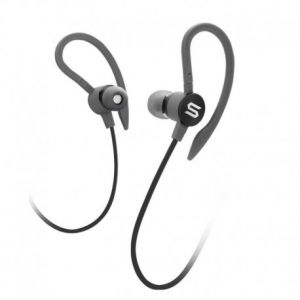 Soul Flex2 Black - Sports Headphones , Washable / Sweat resistant , Answer / end key, volume control