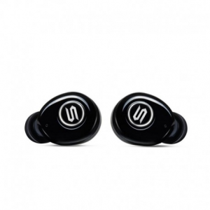 SOUL ST-XS Black Superior High Performance True Wireless Earphones , Washable / Sweat resistant iPX4