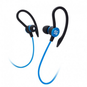 Soul Flex2 Blue - Sports Headphones , Washable / Sweat resistant , Answer / end key, volume control