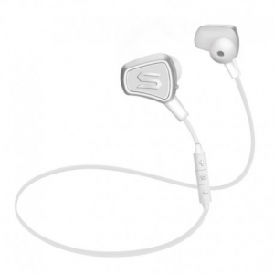 Soul Impact wireless white - Sports Bluetooth Headphones Watersafe.