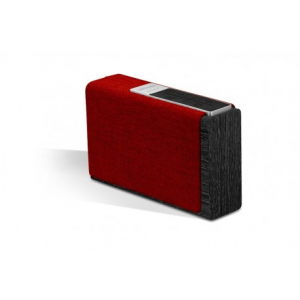 Promate StreamBox-ΧL Ασύρματο Hχείο WIFI, INTERNET RADIO, Bluetooth 15Watt - Μαύρο/Κόκκινο