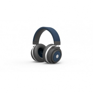Promate Astro Ασύρματα Bluetooth Στερεοφωνικά Ακουστικά Κεφαλής Κλειστού Τύπου - Μπλέ