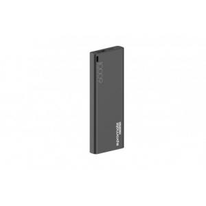 Promate Energi-6 Κομψό Φορητό Powerbank 6000mAh - Μαύρο