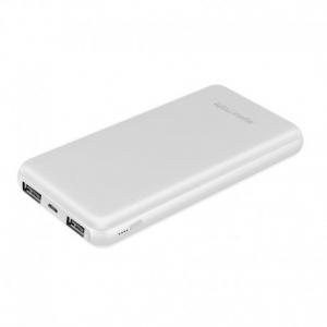 Promate Voltag-10c Powerbank Ταχείας Φόρτισης 10000 mAh Με Type-C Θύρα – Λευκό
